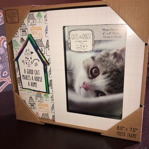 Other - Cat Picture Frame 6 x 4 NWT